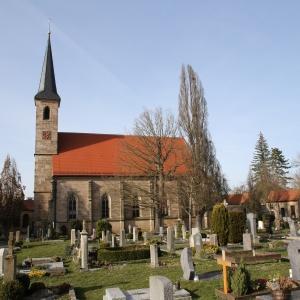 Stadtfriedhof Ansbach - Heilig-Kreuz-Kirche